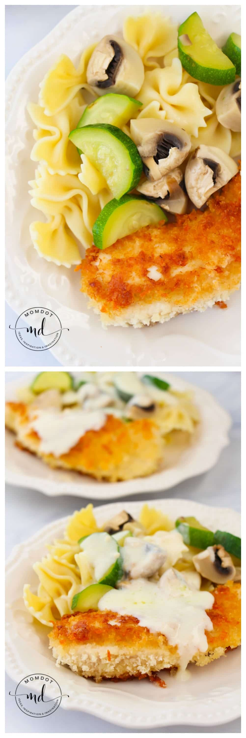 Copycat Olive Garden Parmesan Crusted Chicken | Perfect Italian Recipe for Dinner Tonight