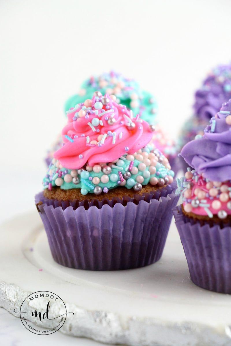 Making A Cupcake Recipe Into Cake