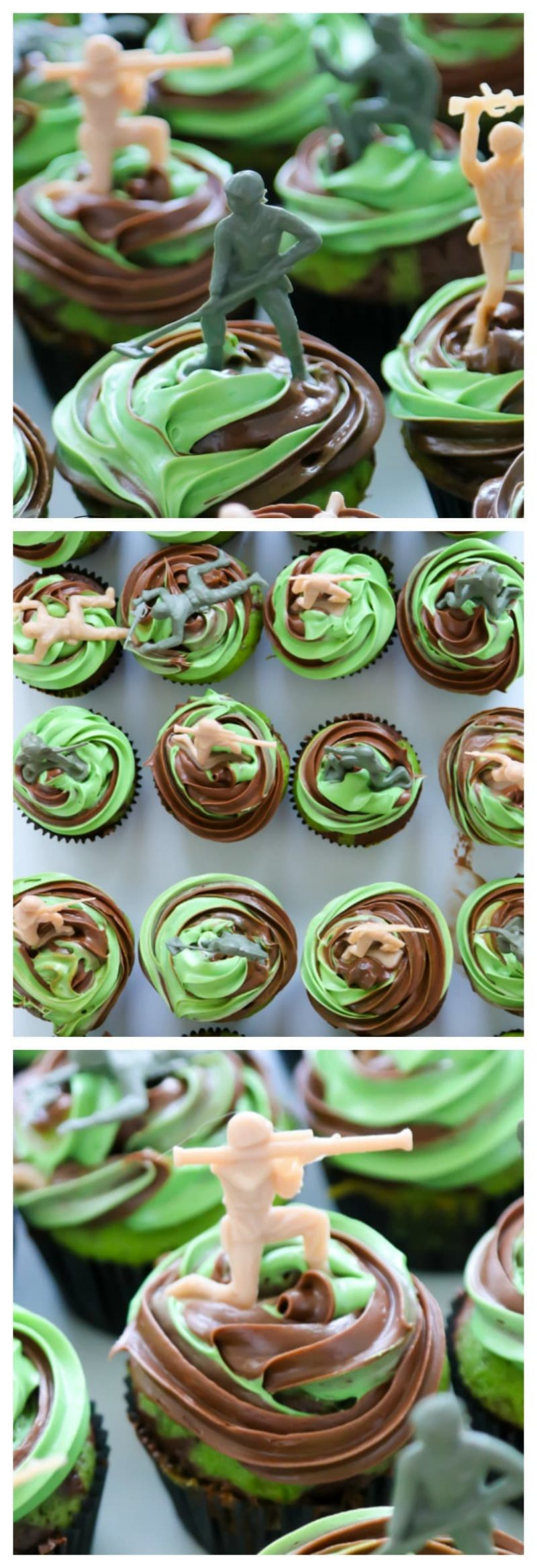 Call of Duty Cupcakes | Camouflage Cupcakes | Army Birthday Party