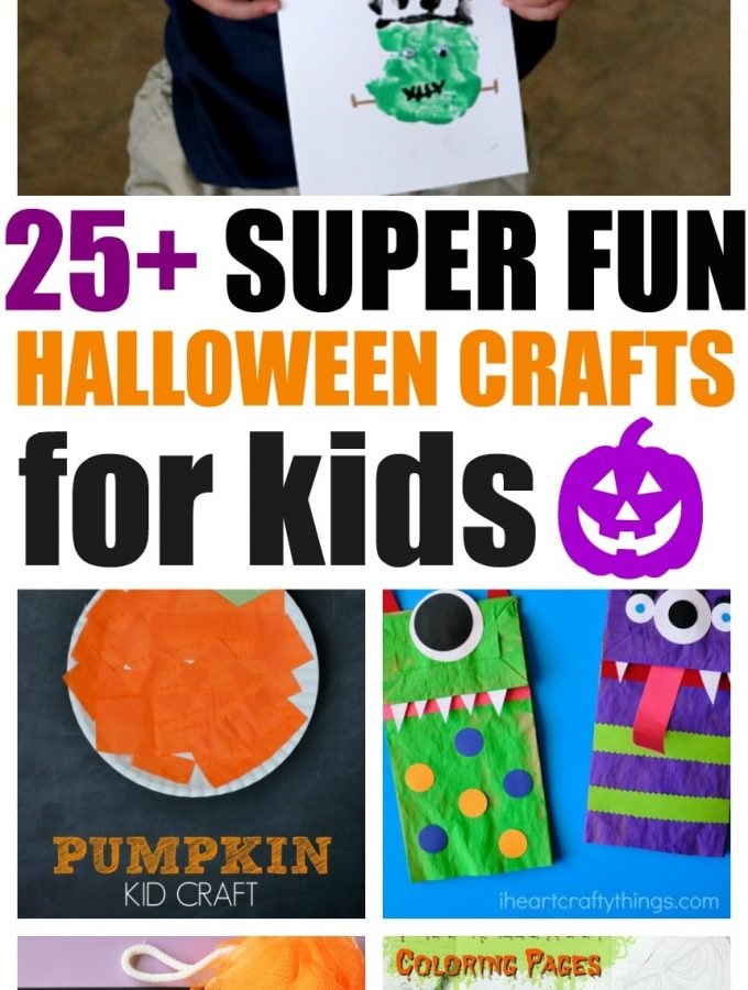 25+ Super Fun Halloween Crafts for kids, Balloon Spider Web , witches, ghosts and more! Kids will love getting into the spirit - literally!
