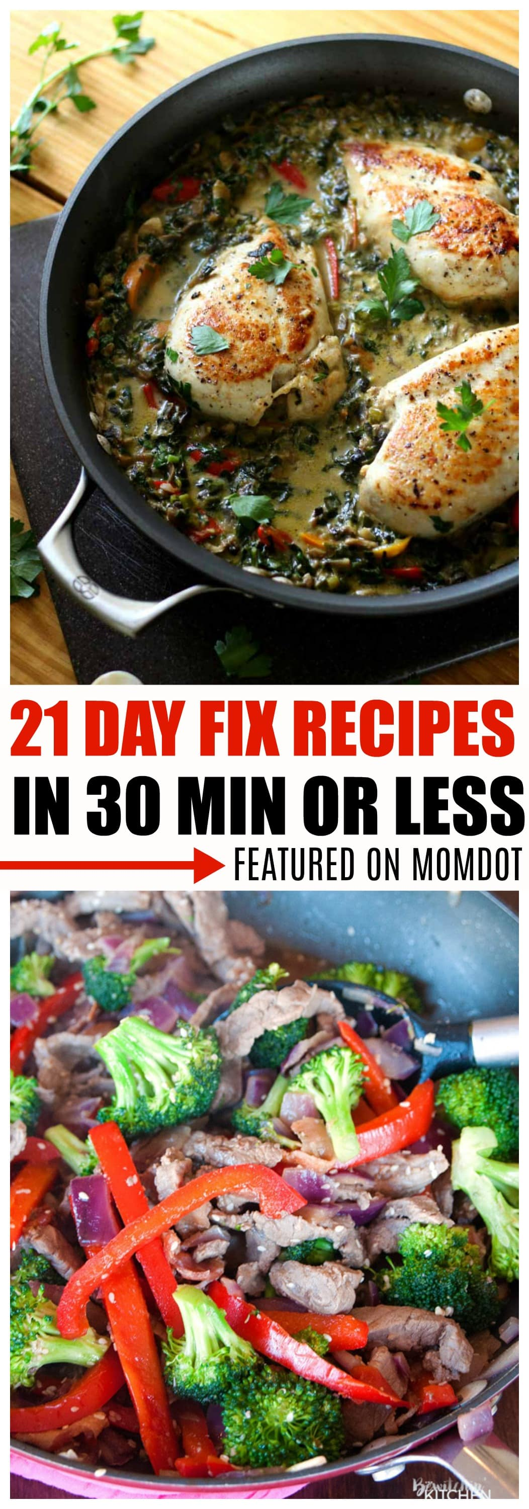 21 day fix recipes easy
