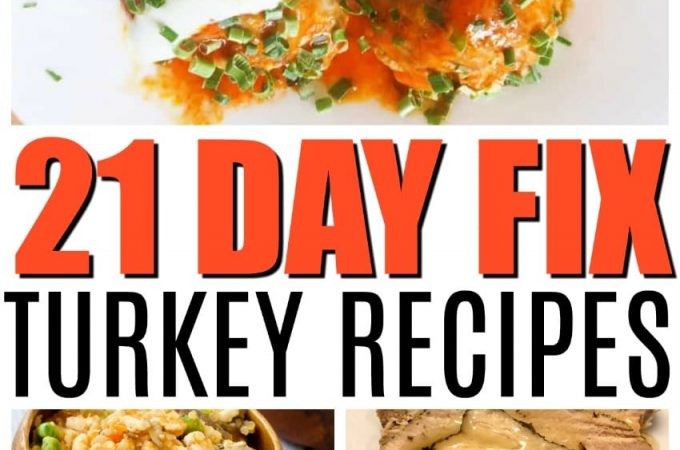 21 day fix turkey recipes