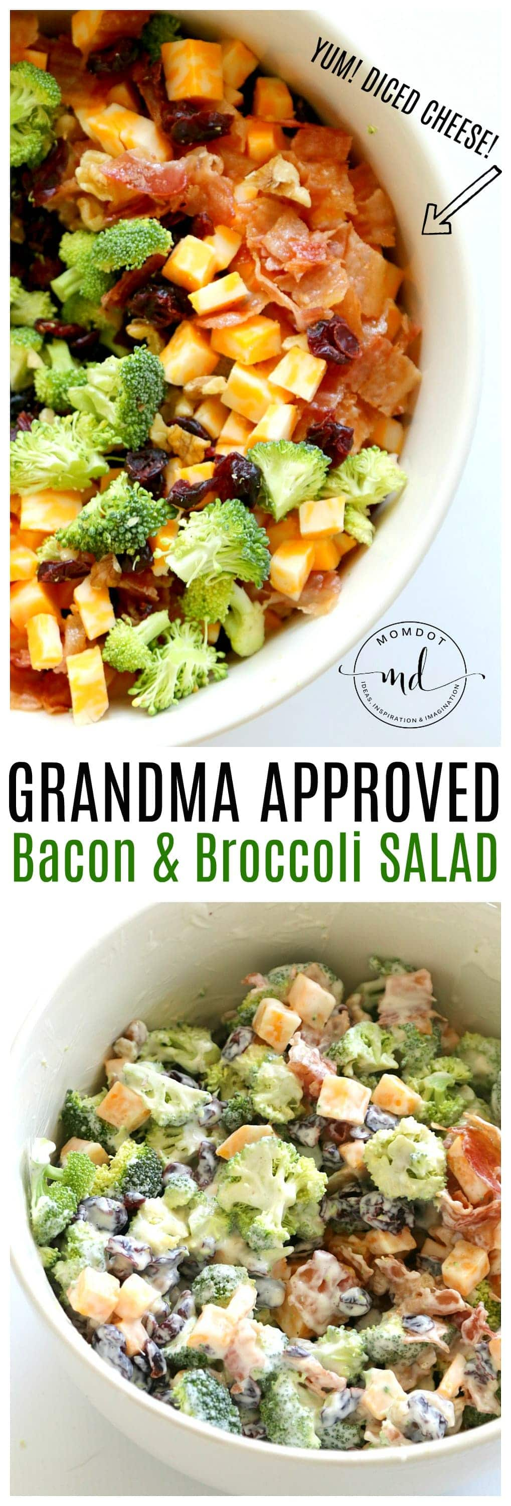 Easy Bacon Broccoli Salad: that Grandma will Approve!