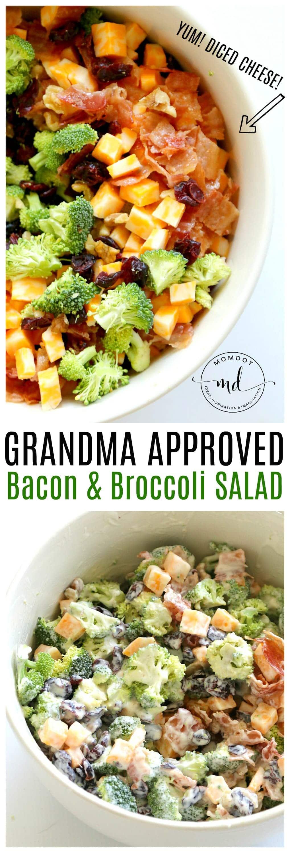 Easy Bacon Broccoli Salad: that Grandma will Approve!
