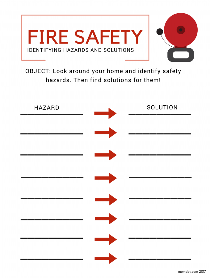 Make Safe Happen in Your Home: Fire Safety Plans