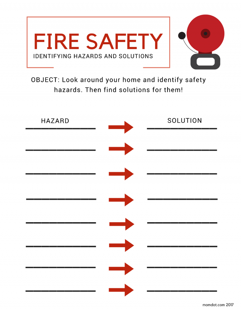 Make safe happen in your home fire safety plans for Home fire safety plan