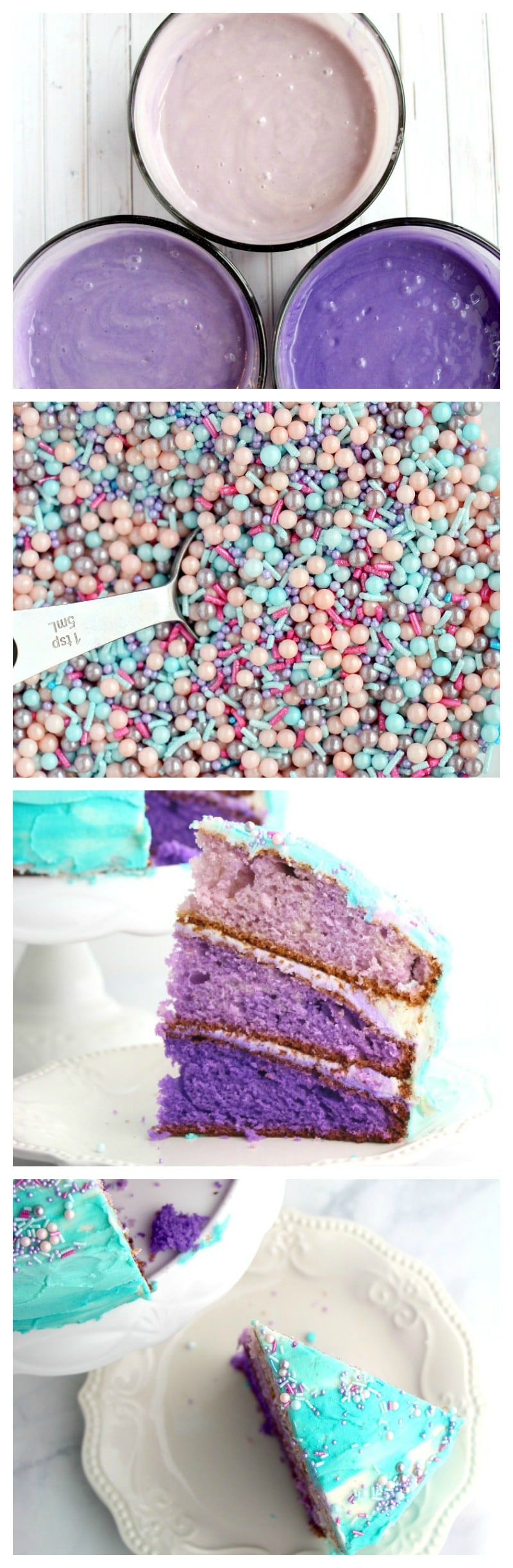 mermaid cake recipe