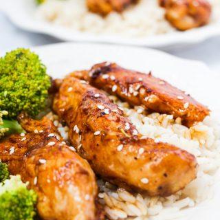 Teriyaki Chicken Fingers Recipe | 15 min Teriyaki Chicken Dinner | Easy Stir Fry