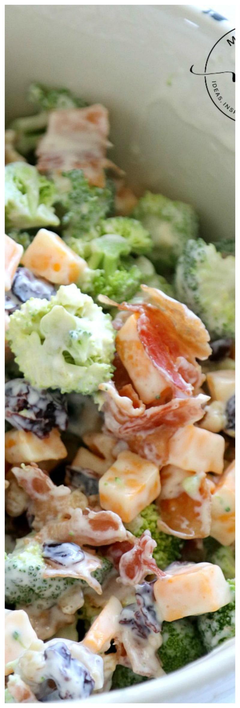 Easy Bacon Broccoli Salad: Grandma will Approve!