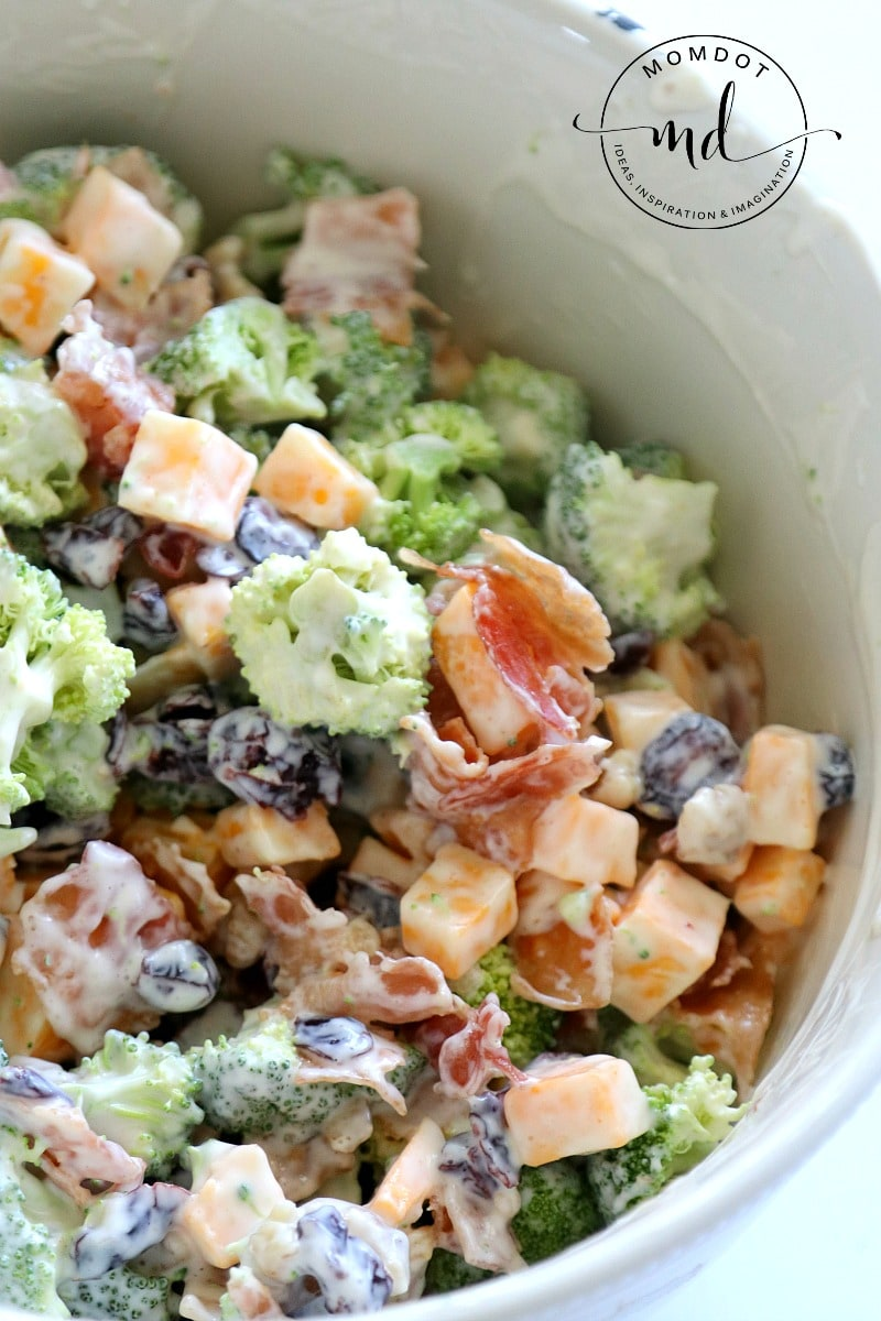 delicious bacon broccoli salad recipe