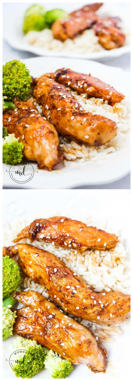 Easy Stir Fry Teriyaki Chicken Fingers Recipe | 15 min Teriyaki Chicken Dinner |