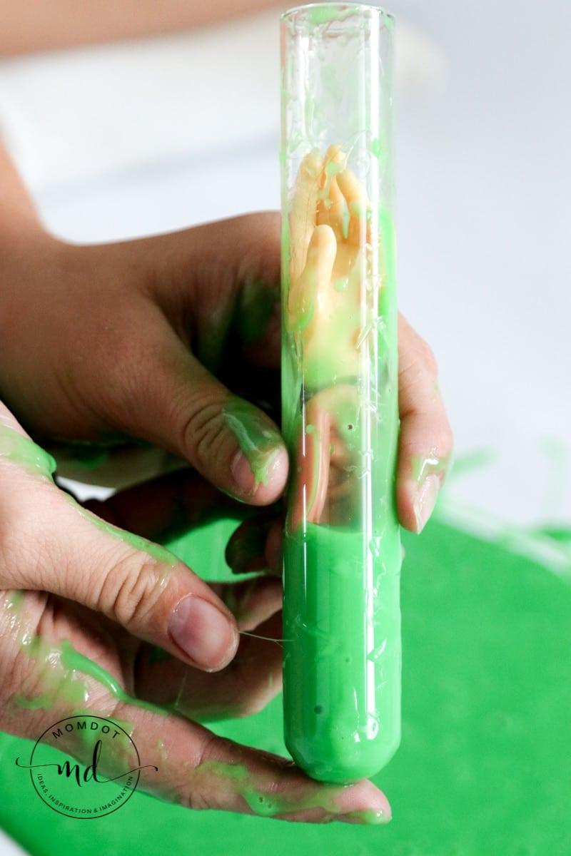 Mad Scientist Halloween Slime Tutorial   Halloween Slime #slime #howtomakeslime #diy #fallcrafts