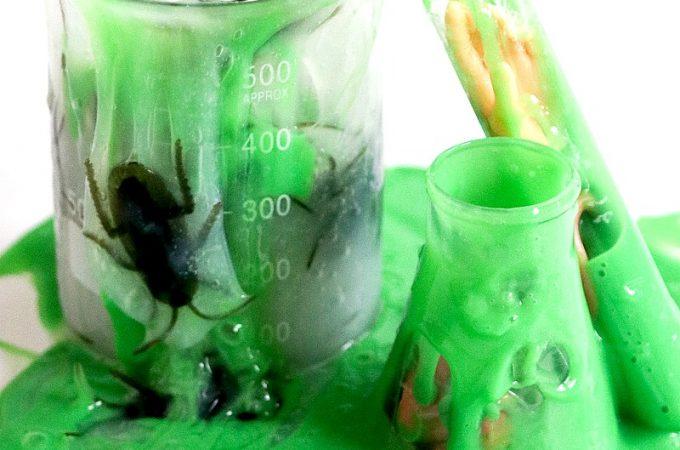 Mad Scientist Halloween Slime Tutorial | Halloween Slime #slime #howtomakeslime #diy #fallcrafts