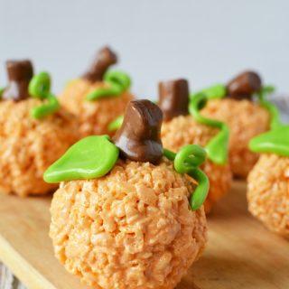 pumpkin rice krispie treats recipe how to make pumpkin rice krispie treats with tootsie roll