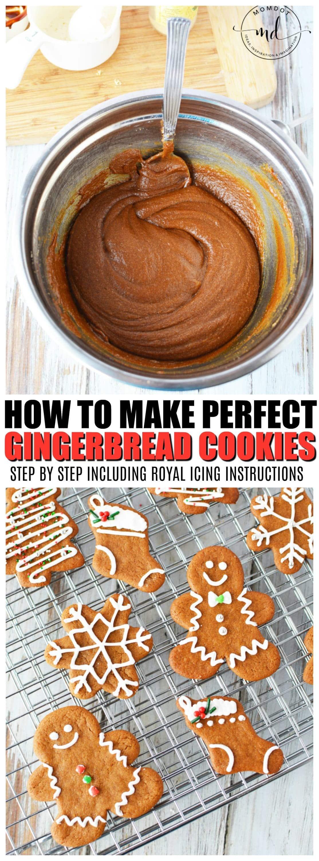 Easy Gingerbread Cookie Recipe | How to make Gingerbread Men Cookies