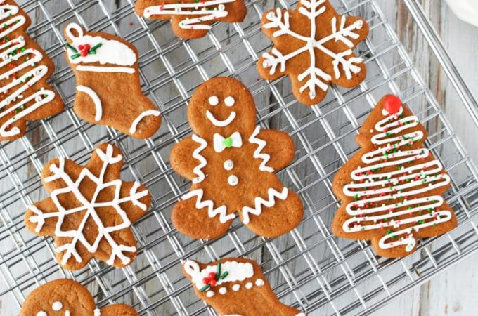 Easy Gingerbread Cookie Recipe | How to make Gingerbread Men Cookies #cookies #recipe #christmas