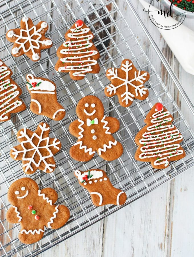 Easy Gingerbread Men Cookie Recipe