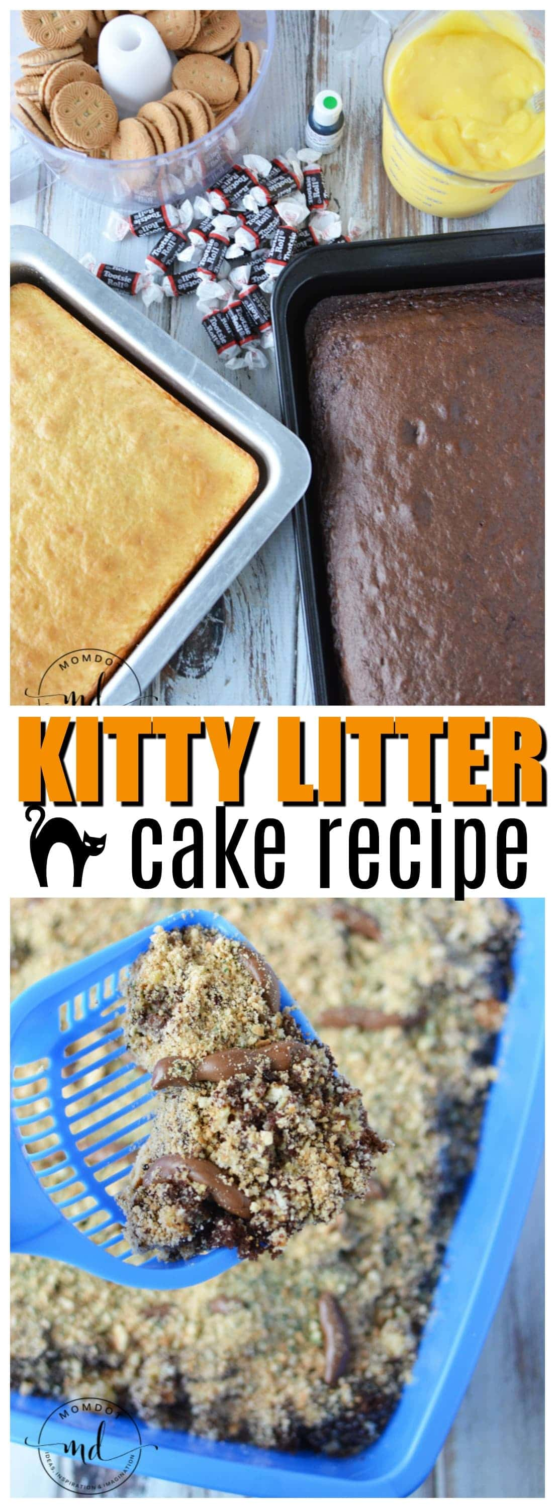 Kitty Litter Cake | How to make Kitty Litter Cake | Halloween Dessert | #kittylittercake #cats #recipe #dessert #howtomake #halloween