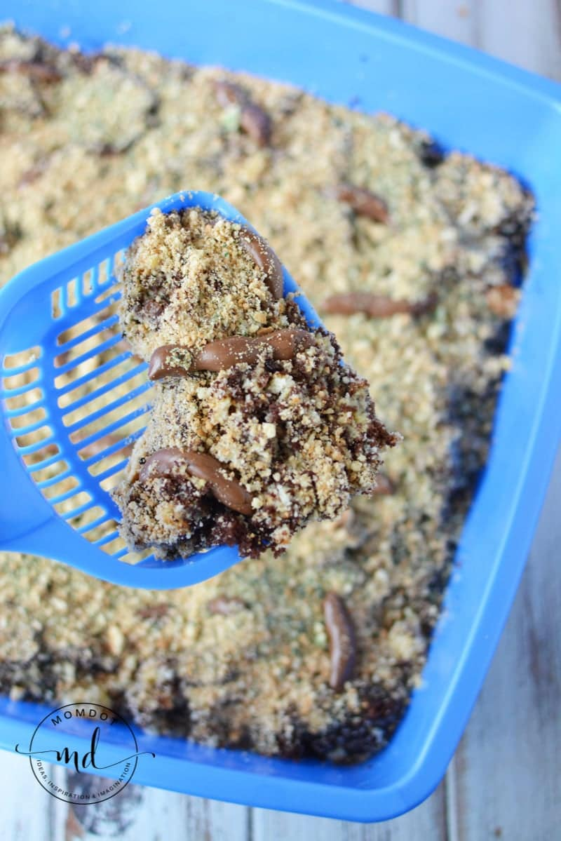 Kitty Litter Cake Box How To
