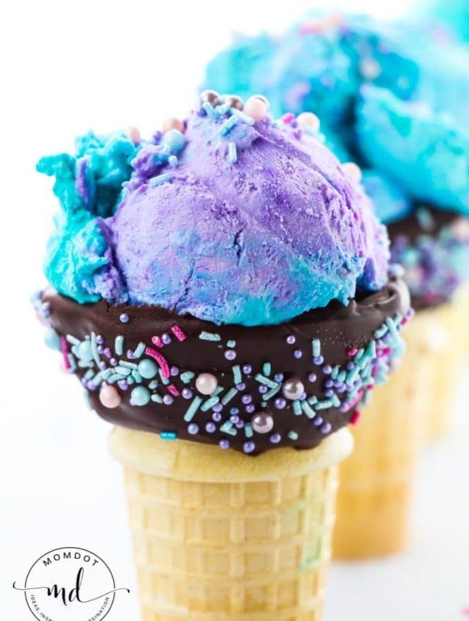 No Churn Mermaid Ice Cream