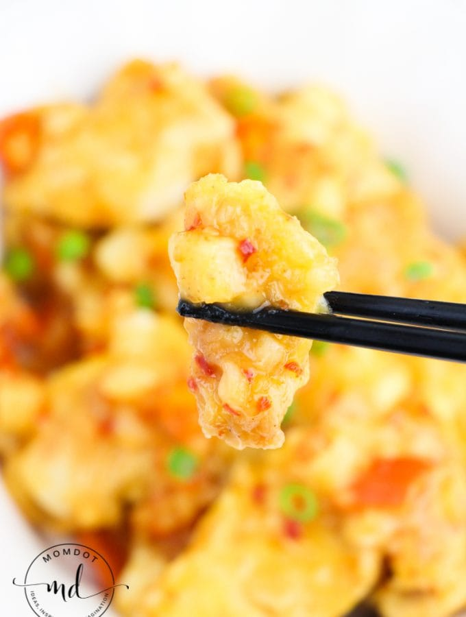 Spicy Chicken Recipe with Sweet Chili Sauce (Thai)
