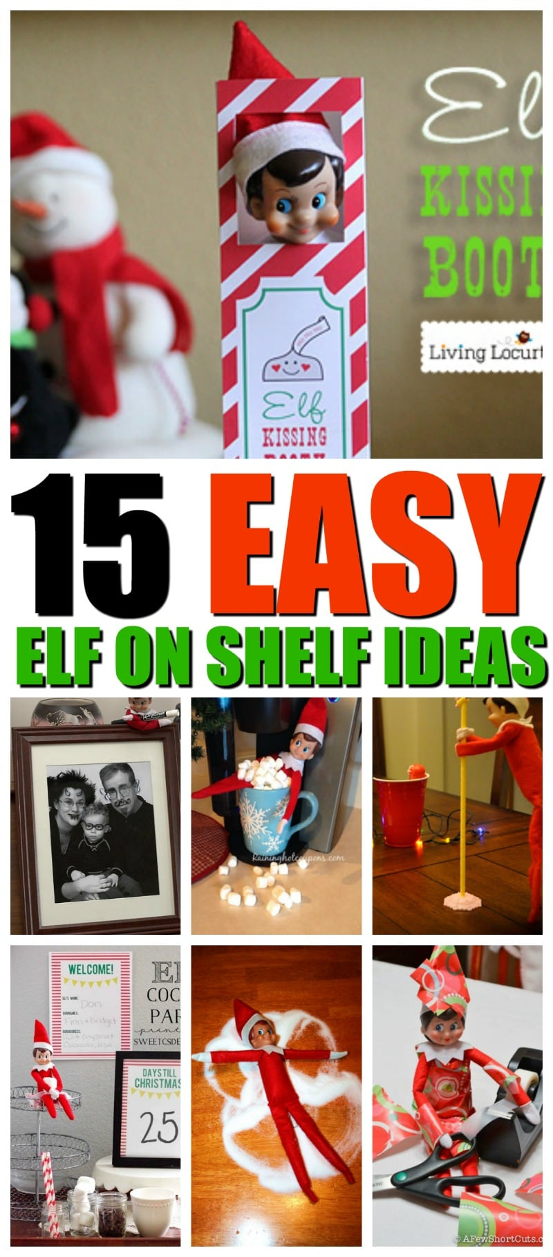 15 easy elf on the shelf ideas you will love momdot howldb. Black Bedroom Furniture Sets. Home Design Ideas