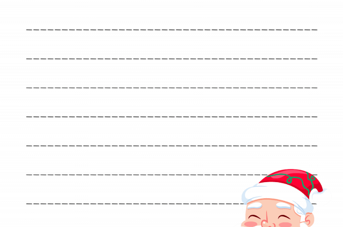 Dear Santa Letter FREE PRINTABLE | Free Download Template to write santa a letter, new for 2017