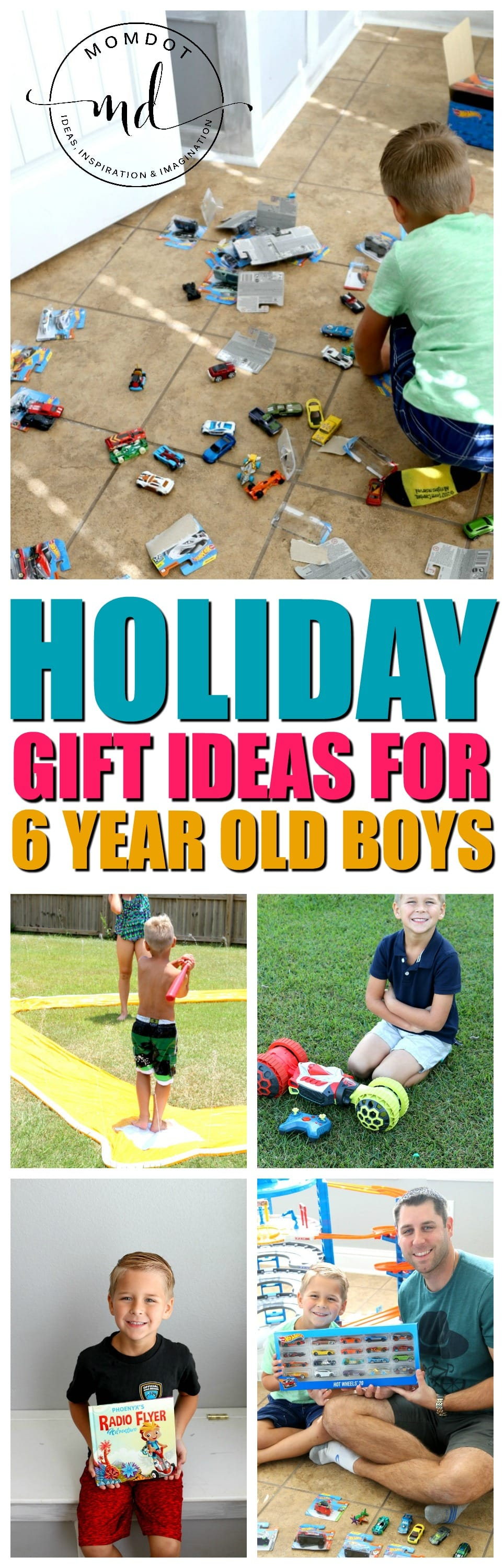 Gift Ideas for 6 year old boys from creative play, to super heros, minecraft and more, finding the right toy in an age of technology can be challenging