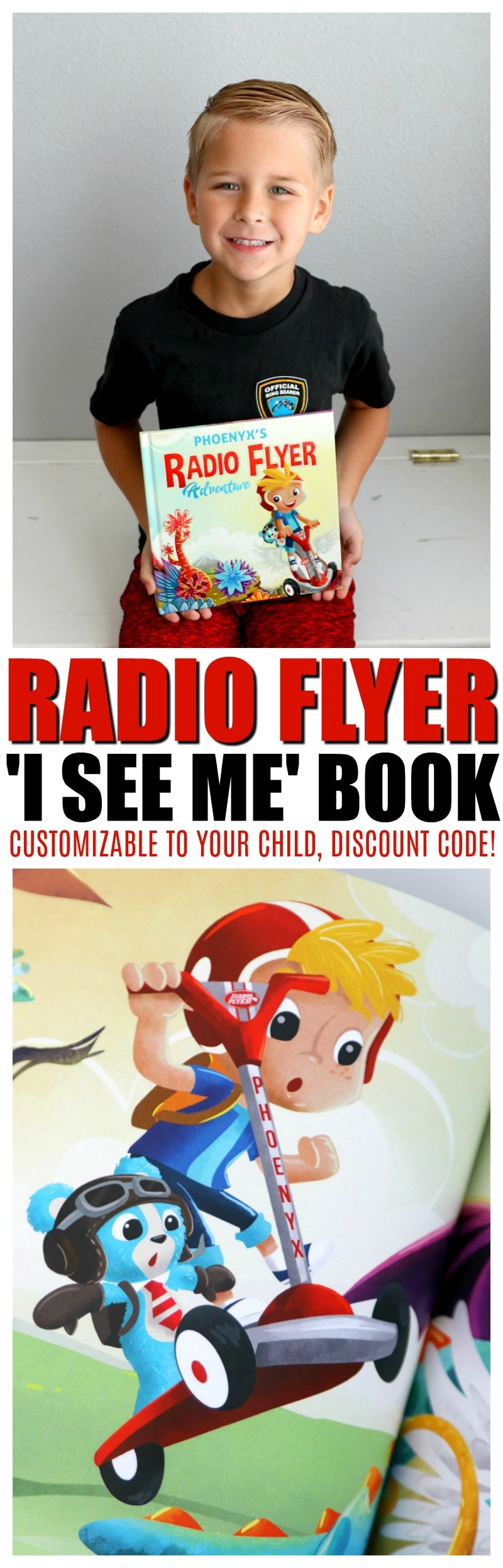 I SEE ME personalized books Radio Flyer Adventure | Discount Code | Top Child's Book