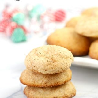 Snickerdoodles Cookie Recipe, Soft Chewy and Delicious Snickerdoodle Cookies! PERFECT for #christmasCookies
