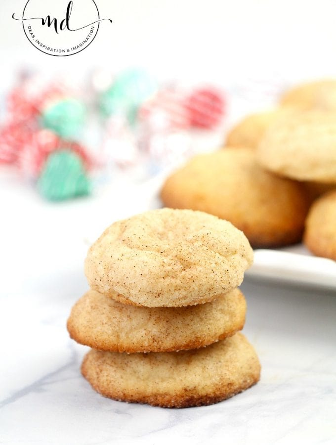 Snickerdoodles Cookie Recipe : Easy, Chewy, and Soft!