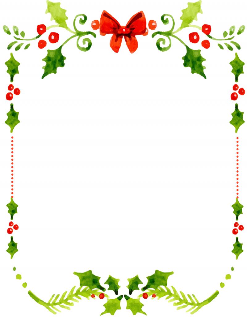 Dear Santa Fill In Letter Template