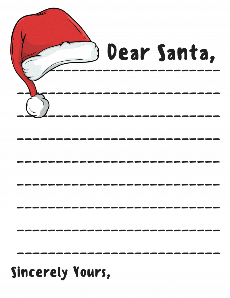 picture about Free Printable Letter Templates called Expensive Santa Letter: Absolutely free Printable Downloads -