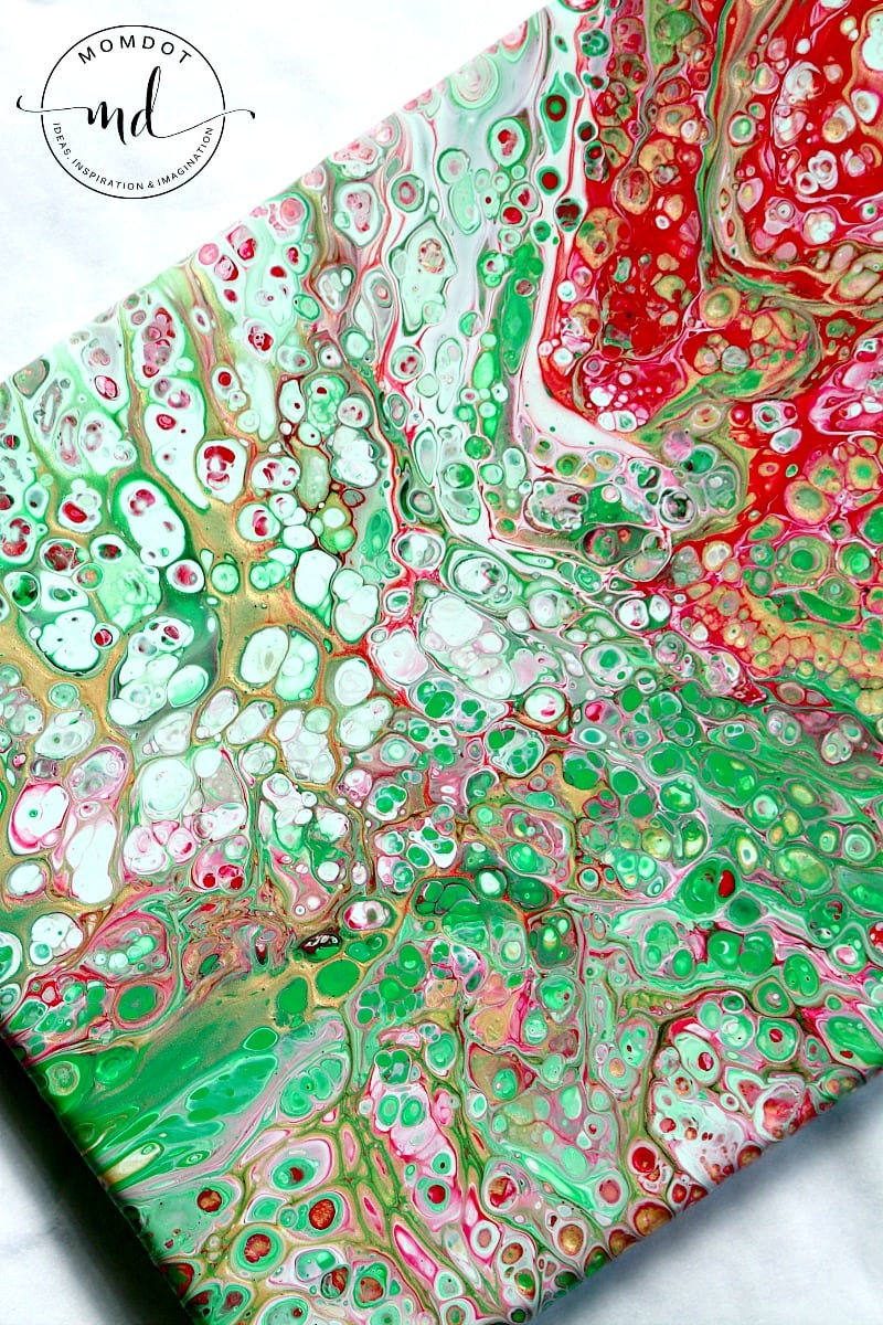 Fluid painting tutorial : Easy to follow step by step acrylic paint tutorial, create 100s of cells, no heat gun, BEST tutorial out there, great for kids #painting #fluidpainting #art #diy #tutorial