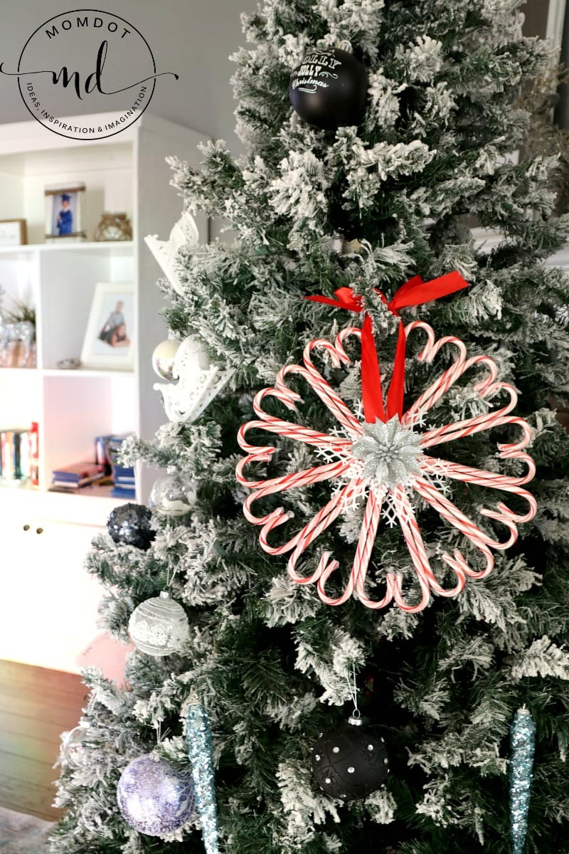 Candy Cane Wreath Christmas Wreath Diy