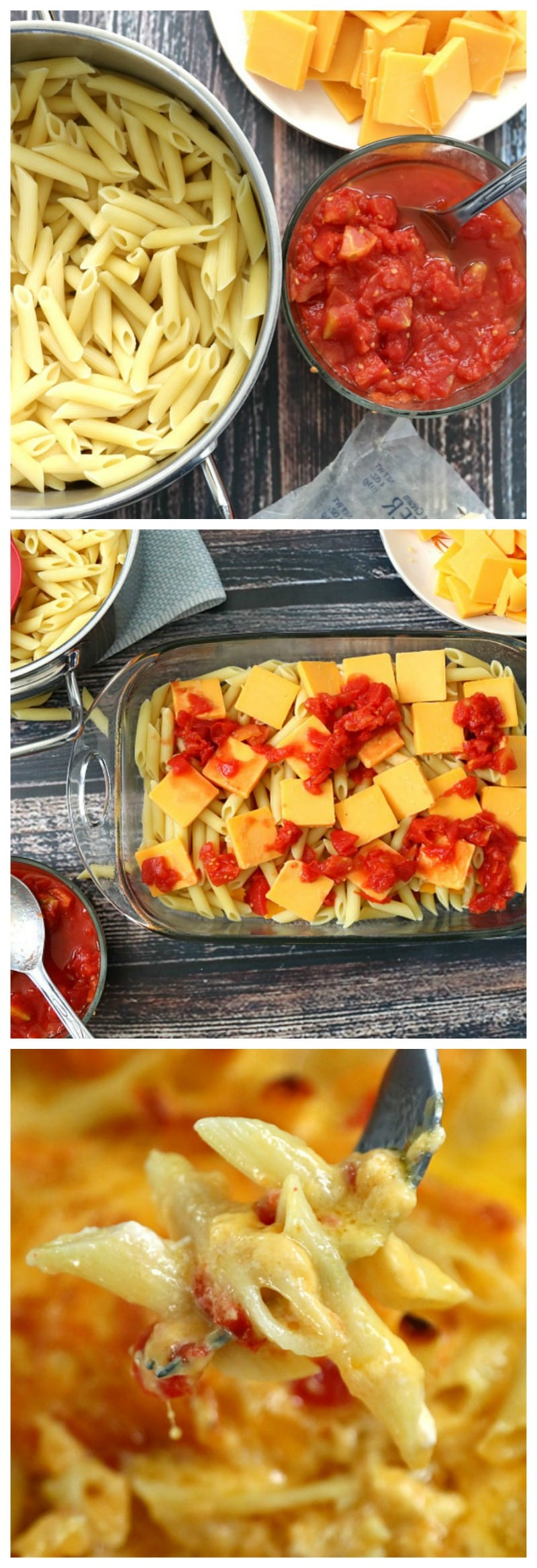 how to make homemade baked macaroni and cheese