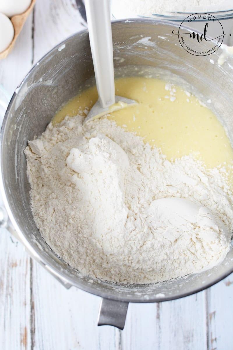 powdered flour
