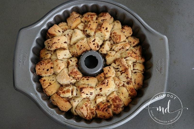 Monkey Bread King Cake