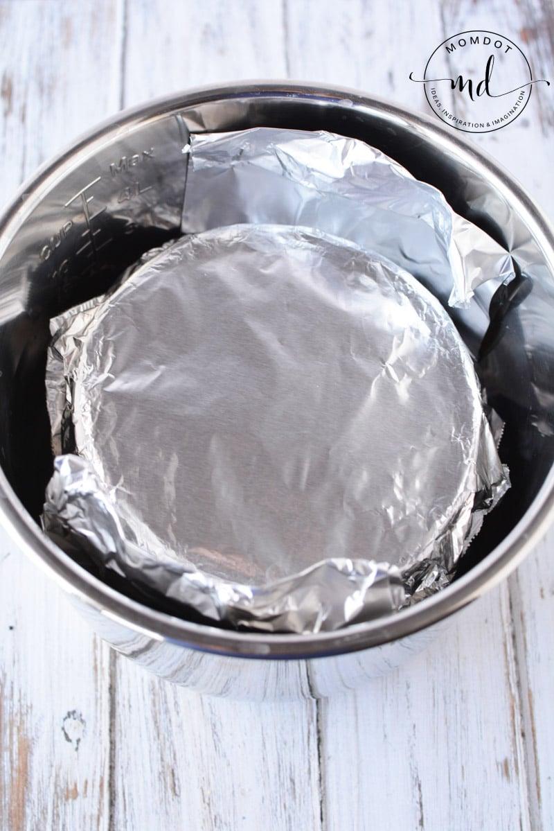 foil in instant pot
