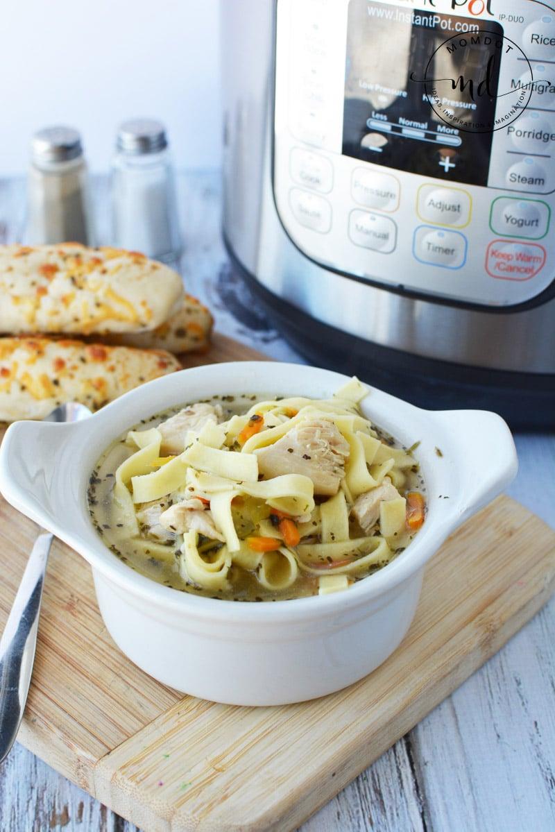 chicken noodle instant pot