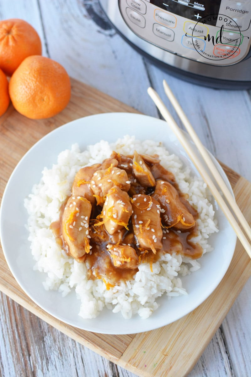 orange chicken