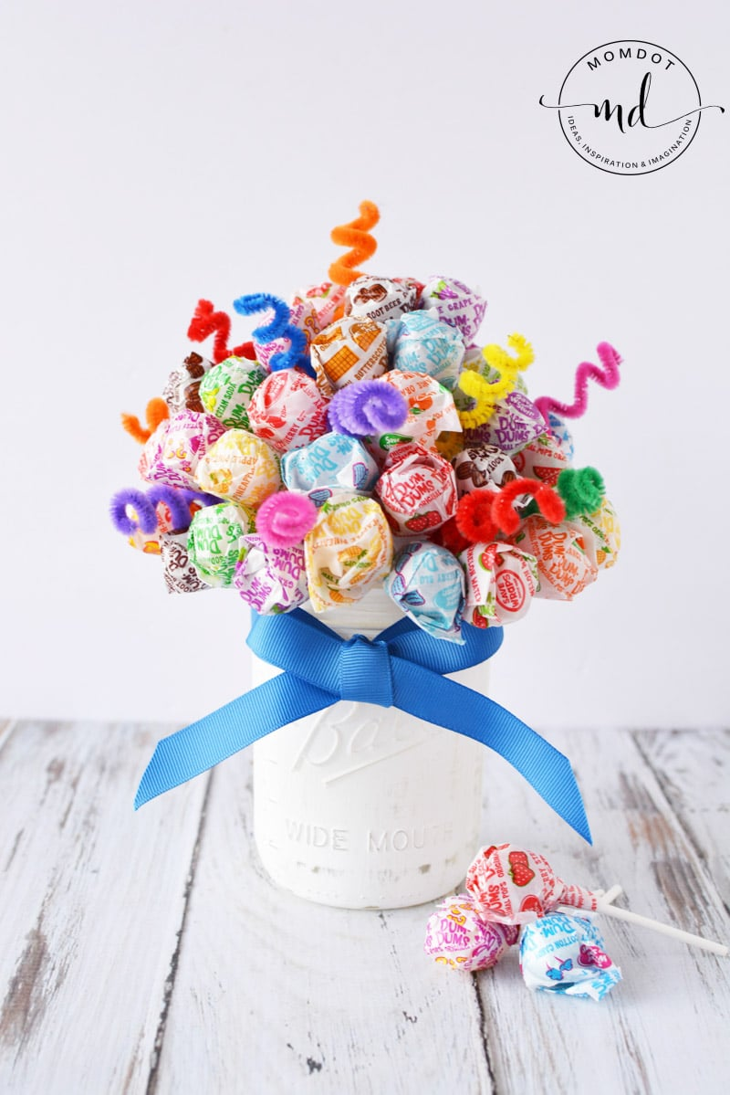 Candy Bouquet Lollipop Dum Sucker DIY Centerpiece -