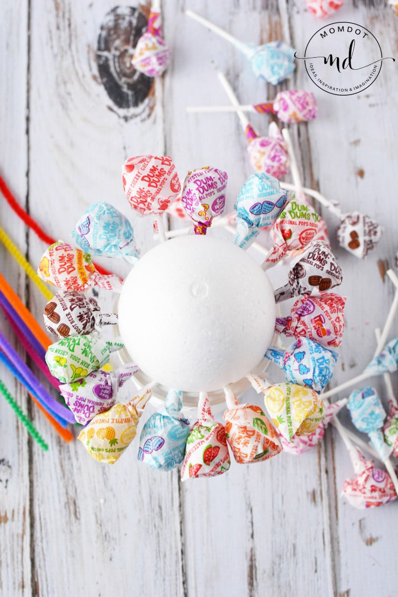 lollipop candy bouquet ideas
