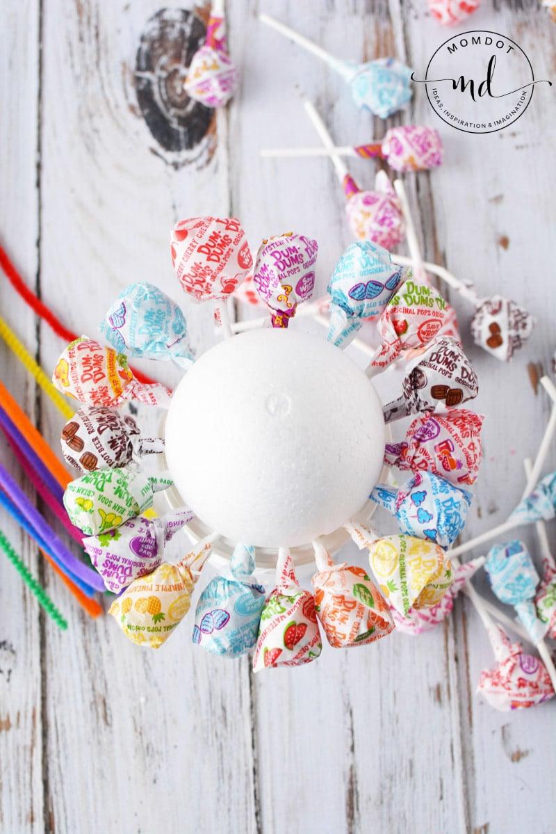 lollipop candy bouquet ideas