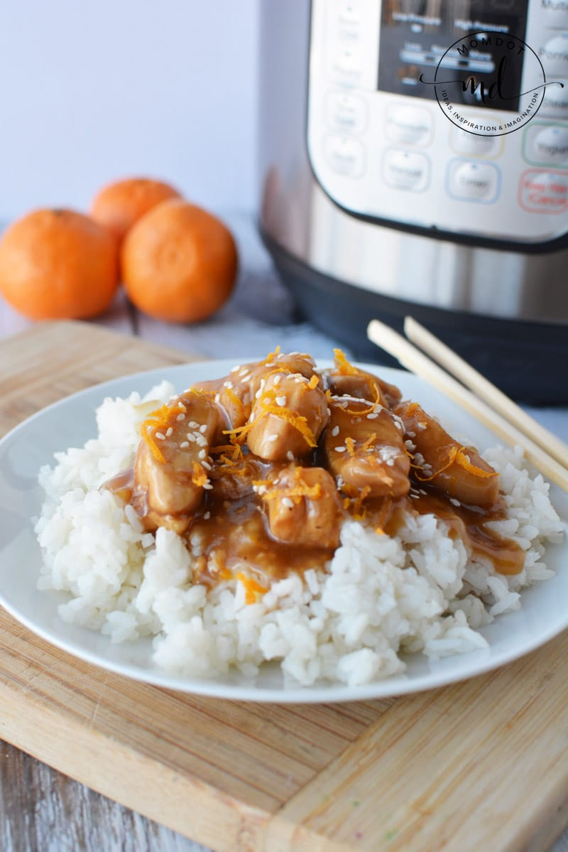 Instant Pot Orange Chicken Breast Recipe
