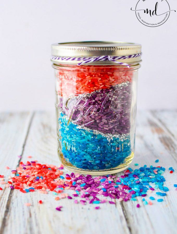 How to Dye Rice | DIY Colored Rainbow Rice