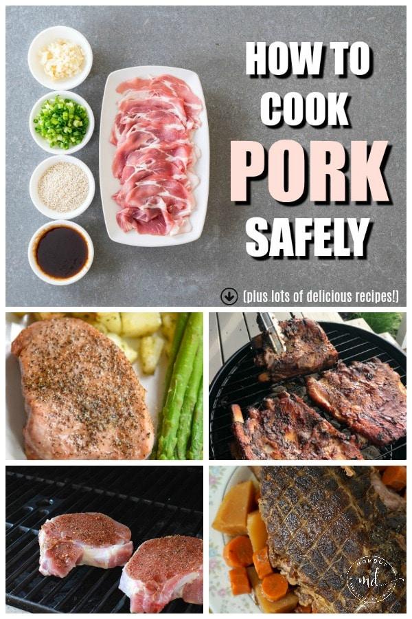 Pork Chop Recipes and How to Cook Pork Safely