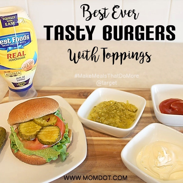 Best Ever Tasty Burgers With Toppings