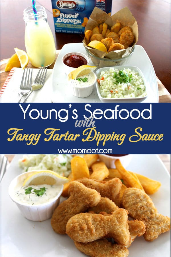 Young's Seafood with Tangy Tartar Dipping Sauce