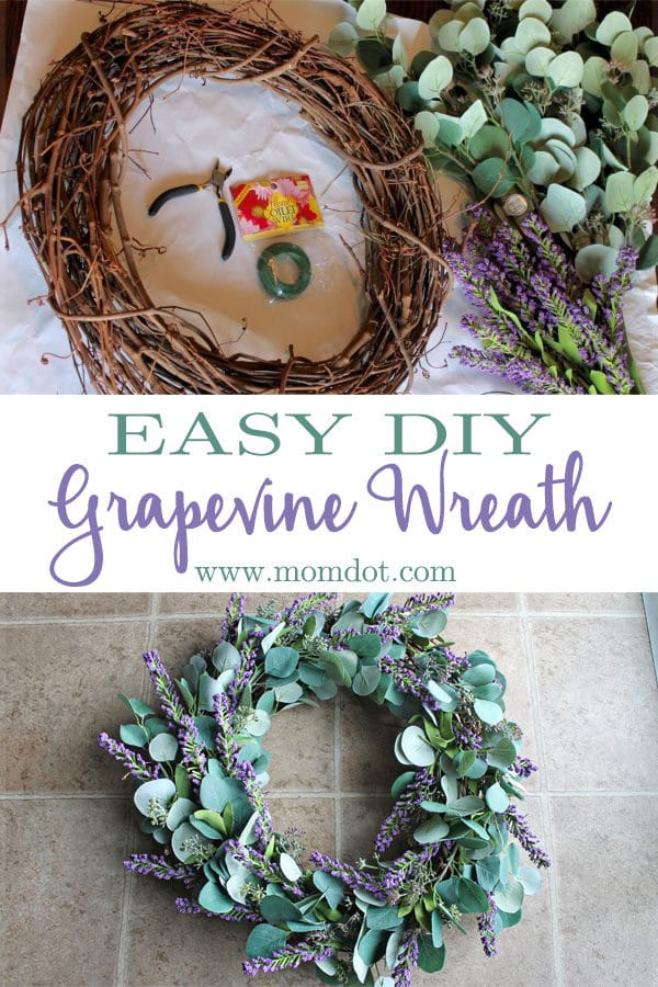 Easy DIY Grapevine Wreath: How to Make an Eye Catching Display